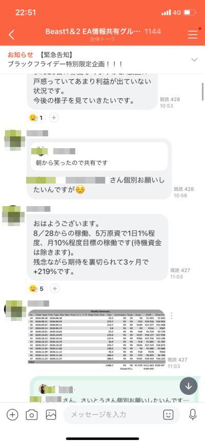 FX自動売買ツールビースト・ビースト2コミュニティ①